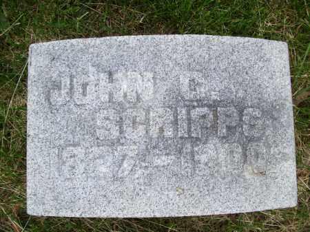 SCRIPPS, JOHN C. - Schuyler County, Illinois | JOHN C. SCRIPPS - Illinois Gravestone Photos