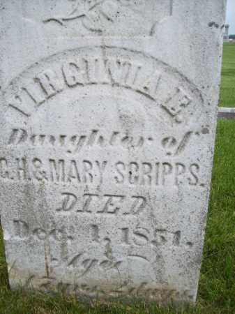 SCRIPPS, VIRGINIA E. - Schuyler County, Illinois   VIRGINIA E. SCRIPPS - Illinois Gravestone Photos