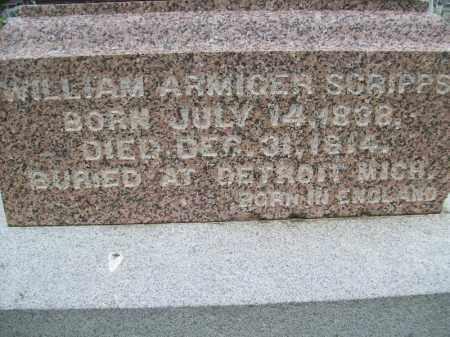 SCRIPPS, WILLIAM ARMIGER - Schuyler County, Illinois | WILLIAM ARMIGER SCRIPPS - Illinois Gravestone Photos
