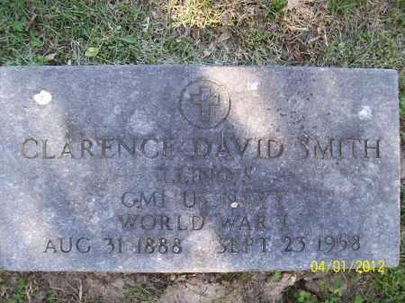 SMITH, CLARENCE DAVID - Schuyler County, Illinois | CLARENCE DAVID SMITH - Illinois Gravestone Photos