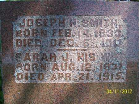 SMITH, SARAH J - Schuyler County, Illinois | SARAH J SMITH - Illinois Gravestone Photos