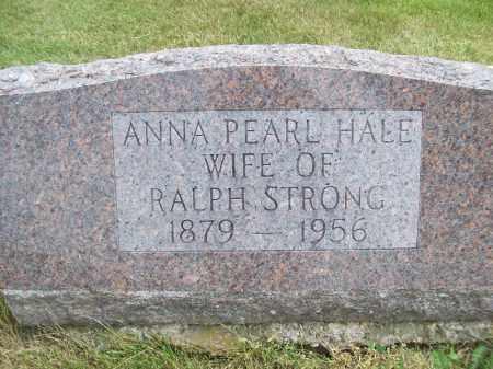 STRONG, ANNA PEARL - Schuyler County, Illinois | ANNA PEARL STRONG - Illinois Gravestone Photos