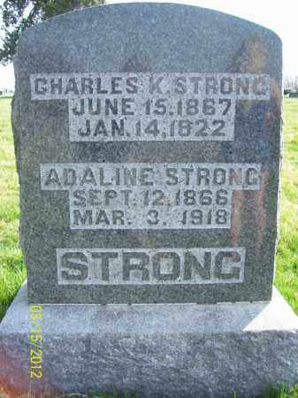 STRONG, CHARLES K - Schuyler County, Illinois   CHARLES K STRONG - Illinois Gravestone Photos