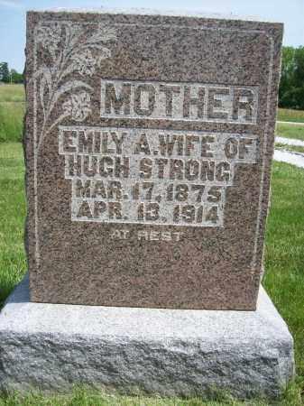 STRONG, EMILY A - Schuyler County, Illinois   EMILY A STRONG - Illinois Gravestone Photos