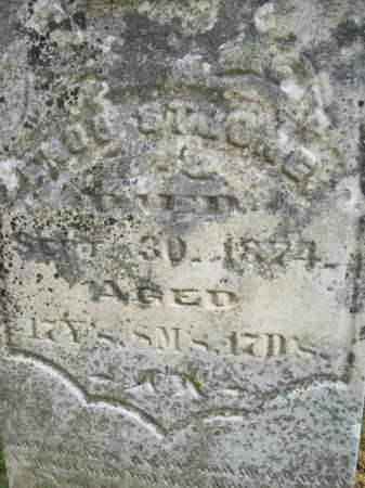 STRONG, ENOS - Schuyler County, Illinois | ENOS STRONG - Illinois Gravestone Photos