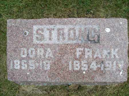 STRONG, DORA - Schuyler County, Illinois | DORA STRONG - Illinois Gravestone Photos