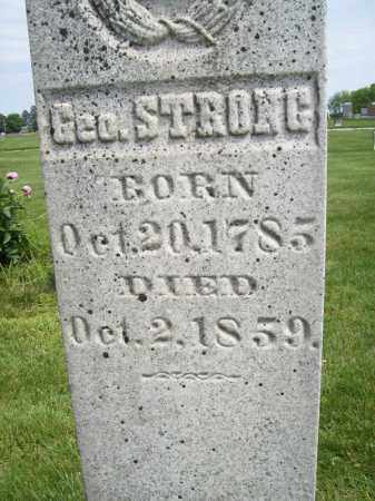 STRONG, GEORGE - Schuyler County, Illinois | GEORGE STRONG - Illinois Gravestone Photos