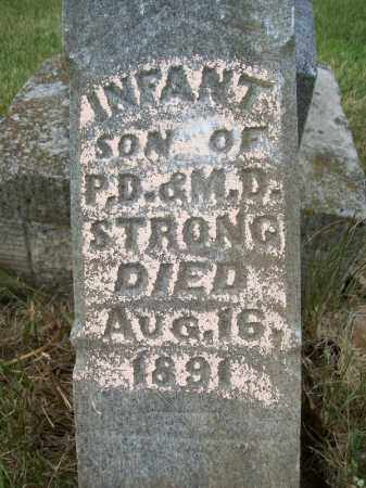 STRONG, INFANT SON - Schuyler County, Illinois   INFANT SON STRONG - Illinois Gravestone Photos