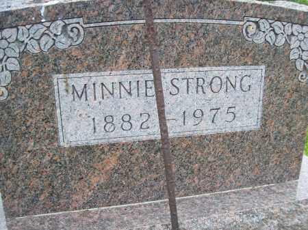 STRONG, MINNIE - Schuyler County, Illinois | MINNIE STRONG - Illinois Gravestone Photos