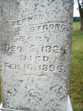 STRONG, STEPHEN - Schuyler County, Illinois | STEPHEN STRONG - Illinois Gravestone Photos