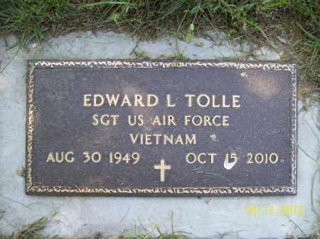 TOLLE, EDWARD L. (MIL) - Schuyler County, Illinois | EDWARD L. (MIL) TOLLE - Illinois Gravestone Photos