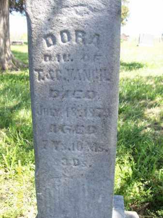 VANCIL, DORA - Schuyler County, Illinois | DORA VANCIL - Illinois Gravestone Photos