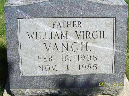 VANCIL, WILLIAM VIRGIL - Schuyler County, Illinois   WILLIAM VIRGIL VANCIL - Illinois Gravestone Photos