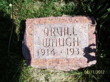WAUGH, ORVILL - Schuyler County, Illinois | ORVILL WAUGH - Illinois Gravestone Photos