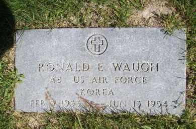 WAUGH, RONALD E. (MIL) - Schuyler County, Illinois | RONALD E. (MIL) WAUGH - Illinois Gravestone Photos