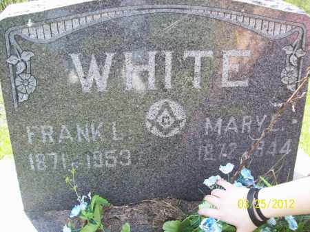 WHITE, MARY E - Schuyler County, Illinois | MARY E WHITE - Illinois Gravestone Photos