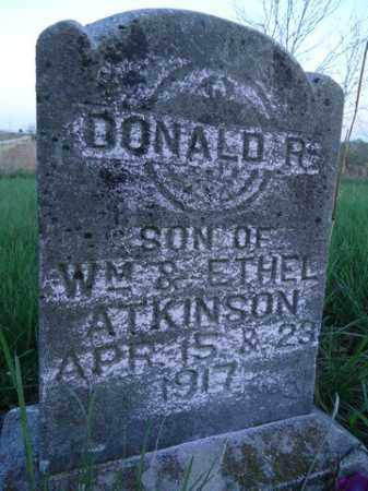 ATKINSON, DONALD R. - Scott County, Illinois | DONALD R. ATKINSON - Illinois Gravestone Photos