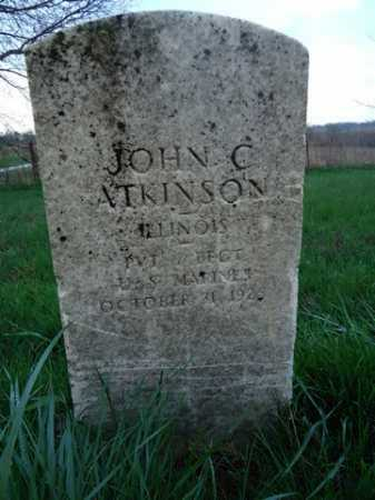 ATKINSON, JOHN C. - Scott County, Illinois | JOHN C. ATKINSON - Illinois Gravestone Photos