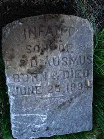 AUSMUS, INFANT - Scott County, Illinois   INFANT AUSMUS - Illinois Gravestone Photos