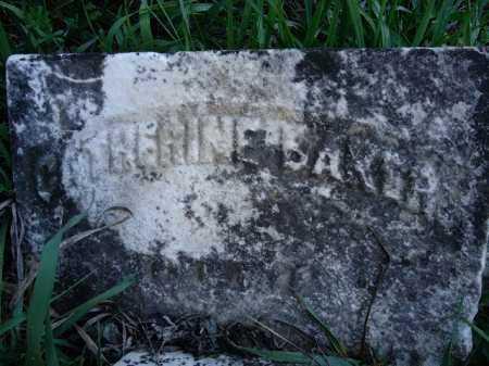 BAKER, CATHERINE - Scott County, Illinois | CATHERINE BAKER - Illinois Gravestone Photos