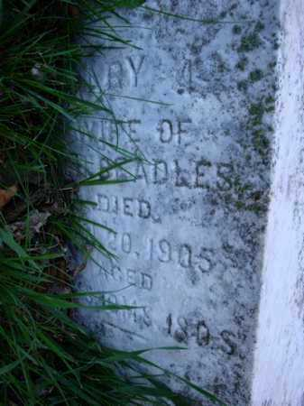 BEADLES, MARY A. - Scott County, Illinois | MARY A. BEADLES - Illinois Gravestone Photos