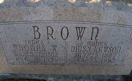 BROWN, DAISY - Scott County, Illinois | DAISY BROWN - Illinois Gravestone Photos