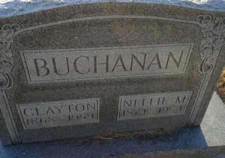 BUCHANAN, CLAYTON - Scott County, Illinois | CLAYTON BUCHANAN - Illinois Gravestone Photos