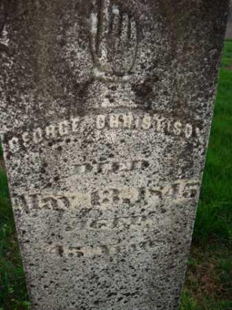 CHRISTISON, GEORGE - Scott County, Illinois | GEORGE CHRISTISON - Illinois Gravestone Photos