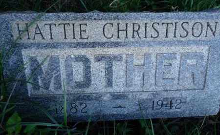 CHRISTISON, HATTIE - Scott County, Illinois   HATTIE CHRISTISON - Illinois Gravestone Photos