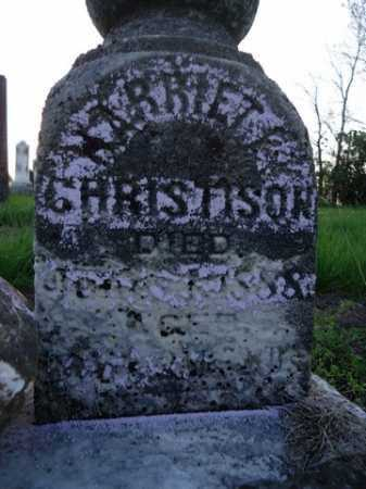 CHRISTISON, HARRIET E. - Scott County, Illinois | HARRIET E. CHRISTISON - Illinois Gravestone Photos