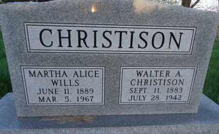 CHRISTISON, WALTER A. - Scott County, Illinois | WALTER A. CHRISTISON - Illinois Gravestone Photos
