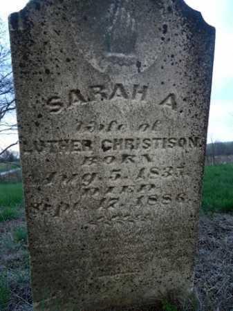 CHRISTISON, SARAH A. - Scott County, Illinois   SARAH A. CHRISTISON - Illinois Gravestone Photos