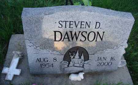 DAWSON, STEVEN D. - Scott County, Illinois   STEVEN D. DAWSON - Illinois Gravestone Photos