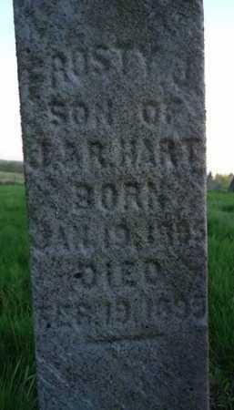 HART, FROSTY J. - Scott County, Illinois | FROSTY J. HART - Illinois Gravestone Photos