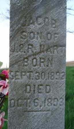 HART, JACOB - Scott County, Illinois | JACOB HART - Illinois Gravestone Photos