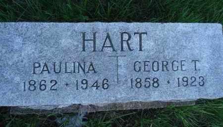 HART, PAULINA - Scott County, Illinois | PAULINA HART - Illinois Gravestone Photos