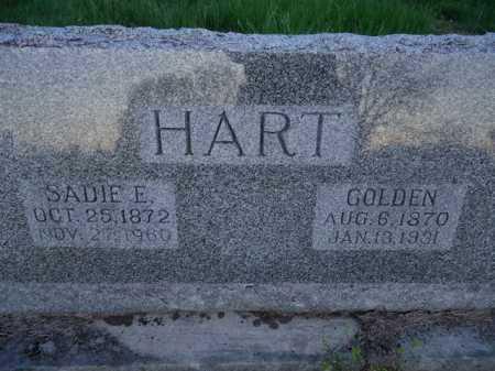 MOORE HART, SADIE E. - Scott County, Illinois | SADIE E. MOORE HART - Illinois Gravestone Photos
