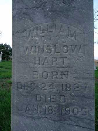 HART, WILLIAM WINSLOW - Scott County, Illinois | WILLIAM WINSLOW HART - Illinois Gravestone Photos
