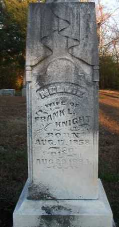 KNIGHT, NELLIE - Scott County, Illinois | NELLIE KNIGHT - Illinois Gravestone Photos