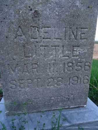 LITTLE, ADELINE - Scott County, Illinois | ADELINE LITTLE - Illinois Gravestone Photos