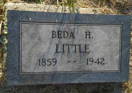 LITTLE, BEDA H. - Scott County, Illinois | BEDA H. LITTLE - Illinois Gravestone Photos