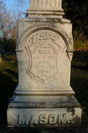 MASON, CHARLES B. - Scott County, Illinois | CHARLES B. MASON - Illinois Gravestone Photos