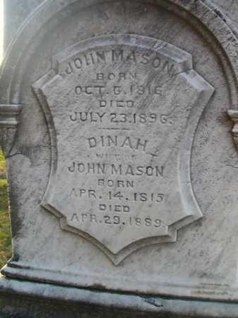 MASON, JOHN - Scott County, Illinois | JOHN MASON - Illinois Gravestone Photos