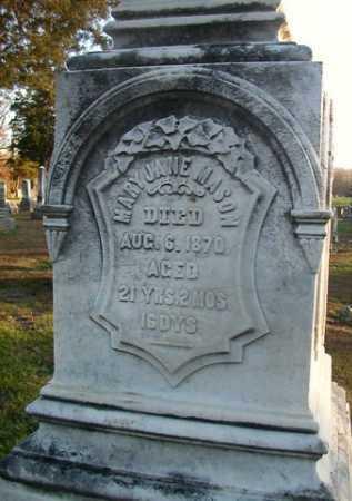 MASON, MARY JANE - Scott County, Illinois   MARY JANE MASON - Illinois Gravestone Photos