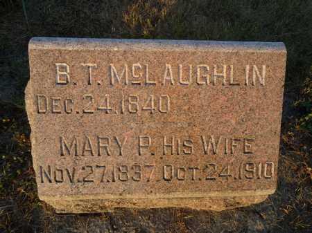 MCLAUGHLIN, MARY P. - Scott County, Illinois | MARY P. MCLAUGHLIN - Illinois Gravestone Photos