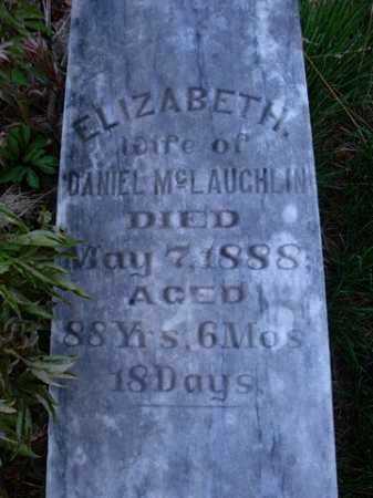 MCLAUGHLIN, ELIZABETH - Scott County, Illinois | ELIZABETH MCLAUGHLIN - Illinois Gravestone Photos