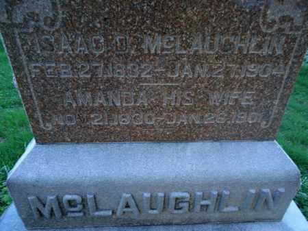 MCLAUGHLIN, AMANDA - Scott County, Illinois | AMANDA MCLAUGHLIN - Illinois Gravestone Photos