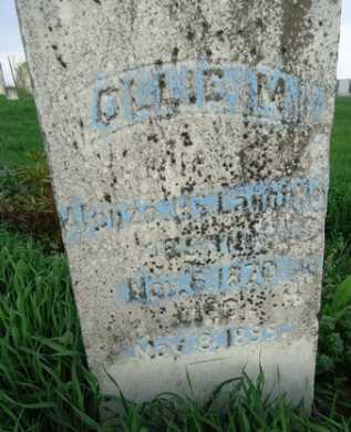 MCLAUGHLIN, OLLIE M. - Scott County, Illinois | OLLIE M. MCLAUGHLIN - Illinois Gravestone Photos