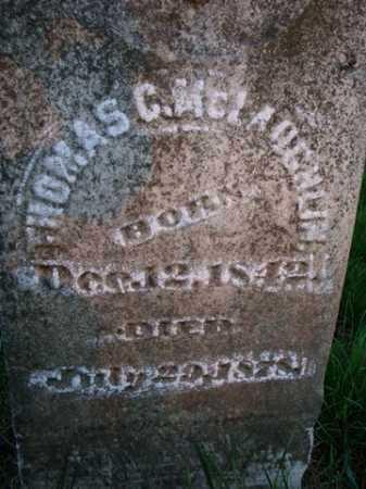 MCLAUGHLIN, THOMAS C. - Scott County, Illinois | THOMAS C. MCLAUGHLIN - Illinois Gravestone Photos