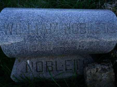 NOBLETS, WILLIAM - Scott County, Illinois | WILLIAM NOBLETS - Illinois Gravestone Photos